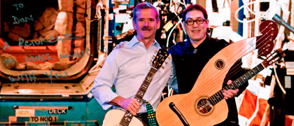 Alder and Chris Hadfield